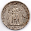 FRANCIA 5 FRANCS 1873 AG - Francia