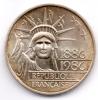 FRANCIA 100 FRANCS 1986 AG - Commemorative