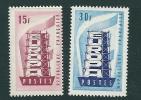 France Sg 1301-02 MM Europa - France