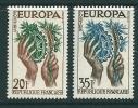 France Sg 1347-48 MM Europa - France