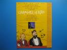 Publicité 1997 Tintin Et Le Capitaine Haddock à L´OPÉRA COMIQUE De Paris - Publicités