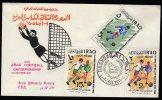 Iraq Fdc Soccer/Football 1966. - Irak