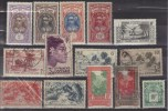 Lot 14 Timbres   PO  Et Taxes OCEANIE  --- Côte 20 Euros. - Oceanië (1892-1958)