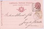 Carte Postale Sans Illustration/Naples/Itali E/MELE/timbre Imprimé Sur Carte/1903            TIMB21 - Cartes