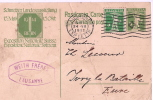 Carte Postale Sans Illustration/Lausanne/Sui Sse/WEITH Fréres/Timbre Imprimé Sur Enveloppe/1913    TIMB23 - Maps