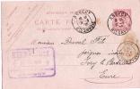 Carte Postale Sans Illustration/Annecy/Haute Savoie/Hermés Ainé/Timbre Imprimé Sur Enveloppe/1903  TIMB24 - Maps