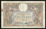 FRANCE - BANQUE De FRANCE - 100 FRANCS (FF. 8 - 10 - 1931) LUC OLIVER MERSON - 1871-1952 Antichi Franchi Circolanti Nel XX Secolo
