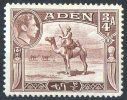 Aden 1939 Camel 3/4A MH - Aden (1854-1963)