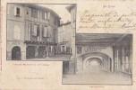 L'Isle Sur Tarn 81 - Architecture - Oblitération Cachet Chemins De Fer Castelnaudary Castres - Lisle Sur Tarn