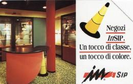 *ITALIA: NEGOZI INSIP* - Scheda Usata (variante NON CLASSIFICATA - 350c?) - Italy
