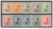 ES490-L1618.España,Spain  Espagne.Rey ALFONSO XIII .VAQUER 1930-1931 .(.Ed 490/8**+A**)sin Charnela LUJO - Nuevos