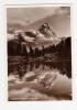 IL CERVINO - Riflessi Sul Lago Bleu - Cartolina FG BN V 1938 Timbro PLAN MAISON FUNIVIE CERVINO - Other Cities
