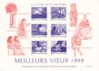 LA LETTRE Au FIL Du TEMPS - MEILLEURS VOEUX 1999 - Offert Par ITVF-France - Documenten Van De Post