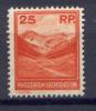 Liechtenstein 1933 Unif. 111 **/MNH VF - Unused Stamps