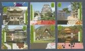 ONU VIENNE - PATRIMOINE MONDIAL -JAPON 350 à 355 NEUF * * - Non Classés