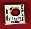 23107-pin's Jeux Olympiques D Espagne.1992. - Jeux Olympiques