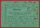 WWII-PORTUGAL - CARTÃO DE RACIONAMENTO MANTEIGARIA UNIÃO 40S. - Autres