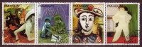 PARAGUAY - 1981 - Picasso - Bande YP N°1878 / 1884 - Oblitérés - 7 Valeurs - Série Complète - Paraguay