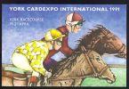 York Cardexpo 1991 ~ Horse Racing - Exhibitions