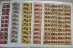 China 1998-24 Campaigns In The Liberation War Stamps Sheets Martial Military - 1949 - ... People's Republic