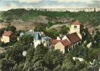 SAINT-ROMAIN   L'EGLISE ET LE CHATEAU  2  - EN AVION AU-DESSUS DE ..... - Autres Communes
