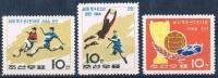 Soccer Football Fussball Korea #711/3 1966 World Cup In England MNH ** - World Cup