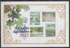 Salon Du Timbre 2012, Jardins De France, Cheverny Et Villandry, Saint Cloud, 4 Timbres à 2.40€ - Neufs