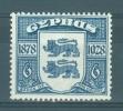 Cyprus: 1928   50th Anniv Of British Rule      SG128        6pi              MH - Cipro (...-1960)