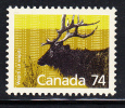 Canada MNH Scott #1177 74c Wapiti - 1952-.... Règne D'Elizabeth II