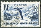 France 1937 CHAMONIX - MONT- BLANC Skiing - Ski Jumping Obl. - France