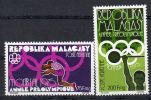 9.10.1975, Malagasy - Année Préolympique,   Y&T No. 158 + 159, Neuf **, Lot 41860 - Ete 1976: Montréal