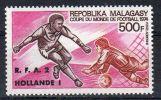 20.12.1974, Malagasy - Coupe Du Monde De Football - Munich RFA - Hollande 2:1,   Y&T No. PA  143, Neuf **, Lot 41862 - Coppa Del Mondo