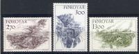Foroiar 1986 Unif. 136/38 **/MNH VF - Färöer Inseln