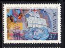 Canada MNH Scott #1200 37c George Vancouver - Exploration Of Canada - 1952-.... Règne D'Elizabeth II