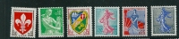 France SG 1452-56 MM - France