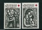 France SG 1555-6 MM - France