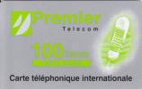 Premier Telecom Carte Silver 100frs + Sticker Au Dos - Prepaid-Telefonkarten: Andere