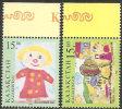 Kazakistan 1998 MNH**  - Yv. 172/173 - Childhood & Youth