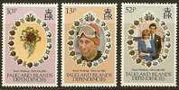 FALKLANDS Dependence 1981 MNH Stamp(s) Wedding Diana 99-101 #7308 - Royalties, Royals
