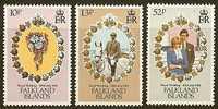 FALKLANDS 1981 MNH Stamp(s) Wedding Diana 326-328 #7307 - Royalties, Royals