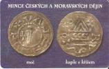 TARJETA DE LA REP. CHECA DE UNAS MONEDAS (COIN-MONEDA) - Sellos & Monedas
