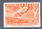 C Uba  E 9  * - Express Delivery Stamps