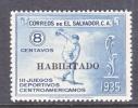 El Salvador 544  *  SPORTS - El Salvador