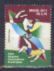 Brasil 2011 ** Relaciones Diplomaticas Brasil - Qatar. Fútbol. Escena De Juego. - Brasil