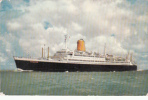 Bateau Paquebot - Ocean Liner - T.S. Bremen - Flagship North German Lloyd - Steamers