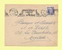 Marseille Porte De L'Afrique - 4-10-51 - Superbe Frappe - Marcophilie (Lettres)