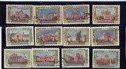 RUSSIA, 1956, Pavillons , Scott #1811-19, Missing 1820 - 1923-1991 URSS
