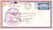 U.S. FIRST  FLIGHT  HAWAII To CALIF. - Hawaii