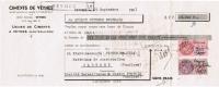 1951 CIMENTS DE VEYNES SIEGE SOCIAL VEYNES USINES DE CIMENTS A VEYNES HAUTES ALPES - Lettres De Change