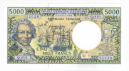 Polynésie Française / Tahiti - 5000 F CFP - Alphabet Q.016 / 2012 / Signatures Barroux / Noyer / Besse - Neuf / UNC - Papeete (Polynésie Française 1914-1985)